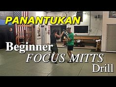 COOL Filipino Boxing (Panantukan) Beginner Focus Mitts Drill - FUN!