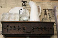 Bachman's 2012 Spring Ideas House...drawer shelf