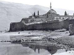 Ιωάννινα, η λίμνη με το κάστρο 1913