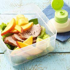 Roasted Pork Salad with Ginger-Pineapple Dressing