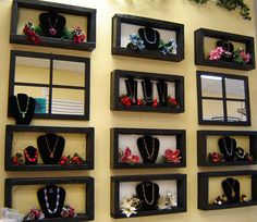 Next Showroom - All Things Handcrafted - Tips, Classes and More!!: Jewelry Display