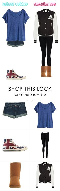 """""""*Random*"""" by stanbro2001 ❤ liked on Polyvore featuring Mother, H&M, Converse, Boohoo, UGG Australia and Parisian"""