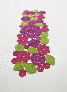 Crochet carpet by GAN.  #introdesign #design #carpets #rugs #textiles #paolalenti #paolalenticarpets