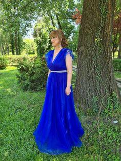 #ROCHII #rochiedeseara #rochiealbastra #vara #evenimente #clientfericit #vogliaforfashion #elegant Corset, One Shoulder, Backless, Formal Dresses, Casual, Fashion, Tulle, Dresses For Formal, Moda