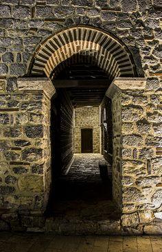 Byzantine Plaosnik - monastery - hall | Ohrid, Macedonia