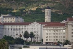 Groote Schuur Hospital in Cape Town (translates as big barn) where the world's first heart transplant took place