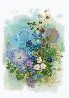Petunia by Jane Crowther, Bug Art greeting cards
