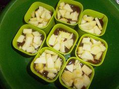 Gâteaux pommes et chocolat  - La Cuisine des Mamans