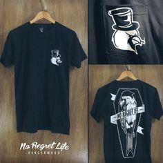 Hangerwood T Shirt No Regret Life