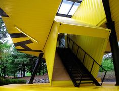 LOT-EK's Shipping Container Art School Opens in South Korea | Inhabitat - Green Design, Innovation, Architecture, Green Building