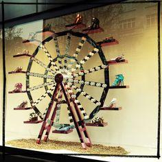 Selfridges Shoe Carnival Ferris wheel- March 2013
