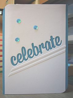 Simple use of Spellbinders contemporary border (circle