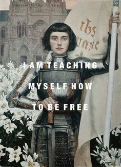 Artwork: Jeanne d'Arc by Albert Lynch // Lyrics: Various Storms and Saints by Florence & the Machine