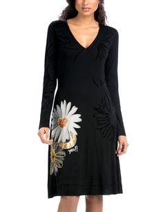 Desigual Sol-Vestido Mujer,