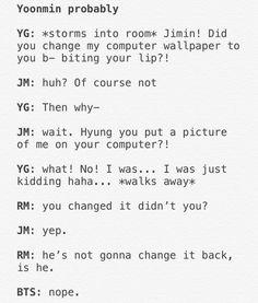 Evil Chim chim's plan to make yoongi fall for hi… – BTS love Bts Namjoon, Bts Jimin, Hoseok, Jhope, Seokjin, Taehyung, Yoonmin, K Pop, I Am Just Kidding