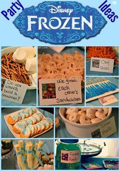 Frozen Birthday Party Ideas - Easy & Budget Friendly! - Mrs Happy Homemaker
