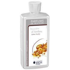 Poussière d'ambre - Rêves d'Orient - Colección Lampe Berger - perfume de hogar.