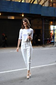 El street style de New York Fashion Week Otono 2013