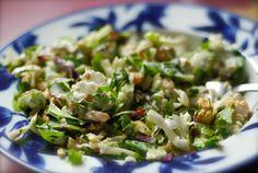 healthy chop chop salad with creamy buttermilk dill ranch dressing | ChinDeep