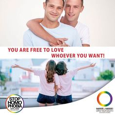 #GoodMorning You are free to love whoever you want! #EnoughisEnough #StopHomophobia #LGBTI #Community #gay #lesbian #instagay #loveislove #equality