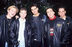 The Backstreet Boys in London - February 1996 The Backstreet Boys during The Backstreet Boys in London - February 1996 in London, Great Britain. (Photo by Fred Duval/FilmMagic) Nick Jonas Smile, Nyle Dimarco, Childhood Memories 90s, Brian Littrell, Kevin Richardson, Nick Carter, Wattpad, Backstreet Boys, Boy Photos