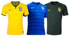 Camisetas del Brasil de la Copa Mundial 2014