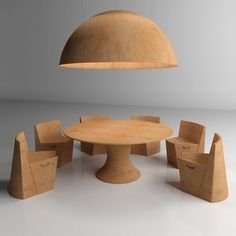 Wooden Cork Object: 25 Ideas for Environmental Deco Eco Furniture, Furniture Design, Camping Stool, Cork Stoppers, Interiores Design, Rocking Chair, Modern Design, Cool Designs, Design Inspiration