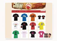 """""""Shurcamisetas.com"""" fue un proyecto web de tienda online en colaboración con Seinglo – Servicios Informáticos Globales."""