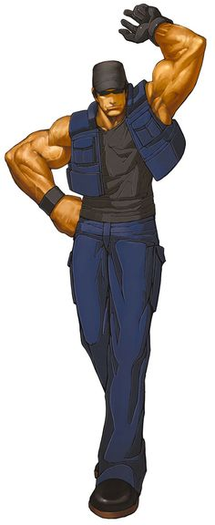 The King of Fighters 2002 - Clark Steel