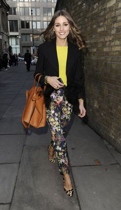Olivia Palermo always gets it right!