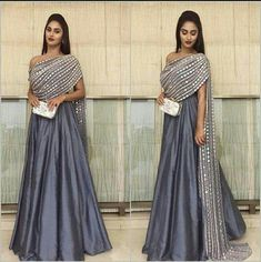 Party Wear Indian Dresses, Designer Party Wear Dresses, Indian Gowns Dresses, Dress Indian Style, Indian Fashion Dresses, Indian Wedding Outfits, Indian Designer Outfits, Indian Outfits, Fashion Outfits