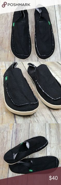 Sanuk shoes Brand new shoes  Style name  rounder hobo Men size 9  Color black Sanuk Shoes Loafers & Slip-Ons
