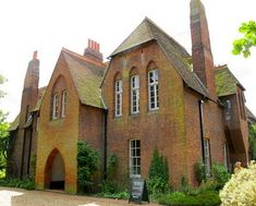 """""""The only house commissioned, created and lived in by William Morris, founder of the Arts & Crafts movement, Red House is a building of extraordinary architectural and social significance."""""""