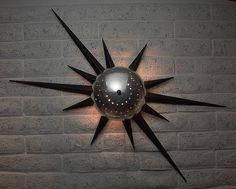 Atomic burst outdoor light fixture