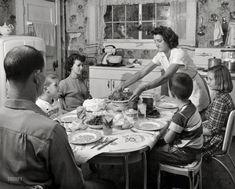 Family Dinner: 1952