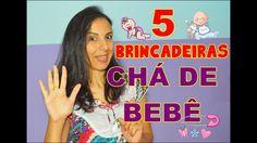 5 BRINCADEIRAS PARA CHÁ DE BEBÊ/FRALDAS   Por Day Carvalho