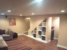 basement renovation ideas for small basements new interior design for small spaces with basement renovation. The post basement renovation ideas for small basements new interior design for small spa& appeared first on Claire Layton Interiors. Basement House, Basement Bedrooms, Basement Flooring, Basement Bathroom, Modern Basement, Basement Walls, Basement Furniture, Basement Waterproofing, Basement Layout