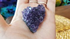 Uruguayan Dark Amethyst cluster extra quality ~ 1 small reiki infused cluster approx 48x40x15mm (E17) by Kiliamma on Etsy