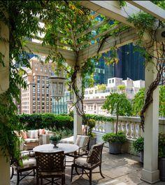 Terrace; Mario Buatta
