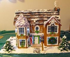 Victorian Christmas House