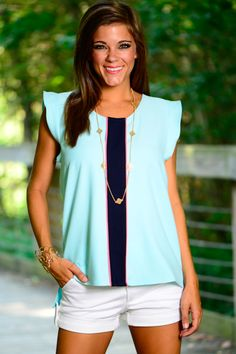 This top is so sophisticated! The super elegant and chic top is something you wear to any event!