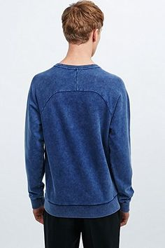 Soulland Vibe Sweatshirt in Navy - Urban Outfitters