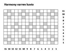 Harmony polvisukat, lankana 7 veljestä, värit 011 ja 060.