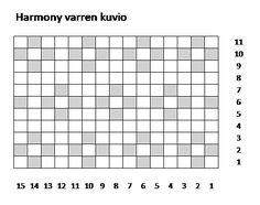 Harmony polvisukat, lankana 7 veljestä, värit 011 ja 060. Knitting Charts, Crochet, Diy, Bricolage, Chrochet, Diys, Crocheting, Handyman Projects, Do It Yourself