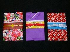 折り紙で着物のポチ袋(かんたんVer)