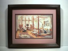 "Framed Print: ""Sunday Morning"" by Trisha Romance, 1986 #Vintage"