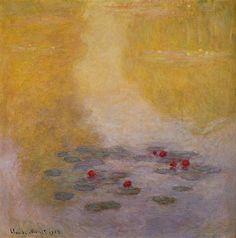 Water-Lilies 6, 1908, Claude Monet.