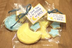 I Love You to the Moon and Back Cookies | Repeat Crafter Me