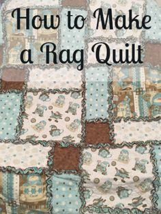 A rag quilt goes together quickly     They also make great gifts and are beautiful and functional as a decorative throw  #crafts #diys #patterns #hacks Rag Quilt, Quilts, Ikea Billy Bookcase Hack, Led Diy, Macrame Projects, Decorative Throws, Plant Holders, Patio Design, Pinwheels