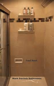 Great Idea An Integrated Shower Foot Rest Located At 18